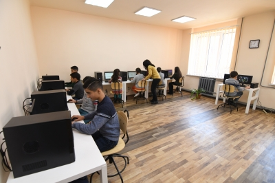 ACBA-CREDIT AGRICOLE BANK assists in opening two computer classrooms in Gyumri and Maisyan community