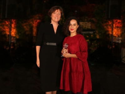 "GBA awarded ACBA-Credit Agricole Bank for the best ""New Project"" -  ""Women in Business"""