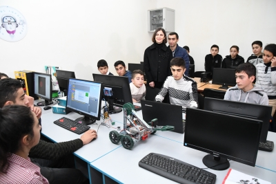 The pupils will engage in the robotic industry in the frontier Movses village